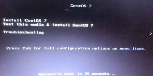 USB 启动/安装Centos 7出现 dracut-initqueue timeout问题解决方案